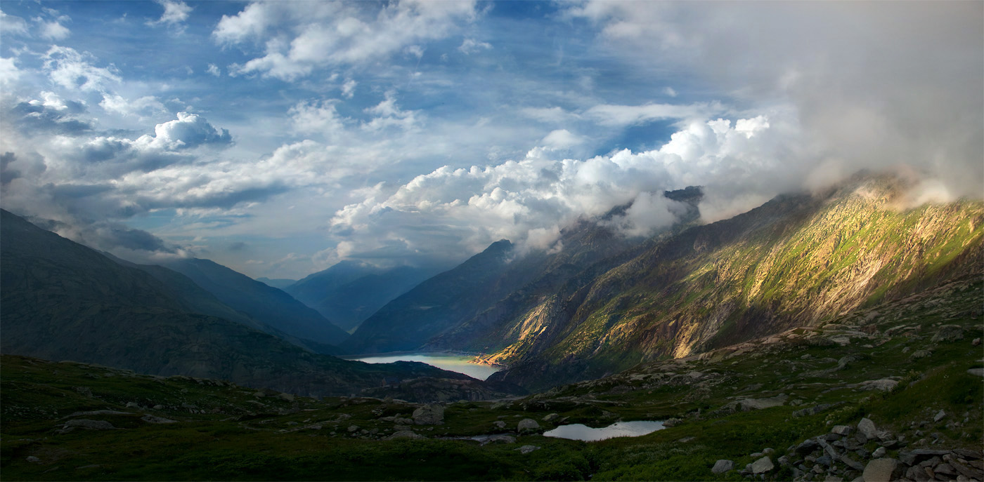 Cradle of thoughts - Grimsel view